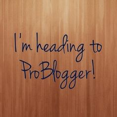 Nutshell is headed to ProBlogger Event!