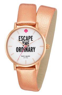 'escape the ordinary' watch