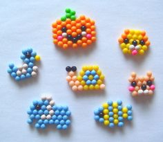 Easy Perler Bead Patterns, Perler Bead Templates, Seed Bead Patterns, Beading Patterns, Perler Beads, Fuse Beads, Beads And Wire, Seed Bead Crafts, Beaded Crafts