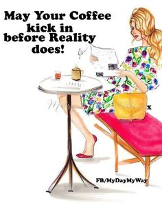Coffee Klatch, Coffee Break, Table, Furniture, Etsy, Home Decor, Hilarious, Funny, Humor