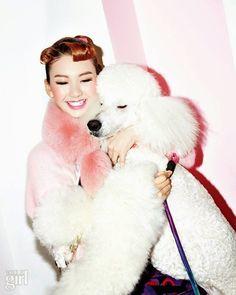 Dreaming of Dior - Vogue Girl Korea December 2014