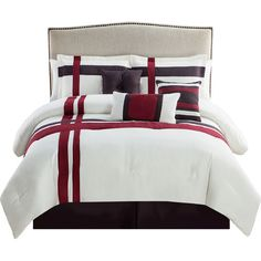 Found it at Wayfair - Berkley 7 Piece Comforter Set