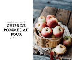 Chips de pommes au four: recette facile, rapide et gourmande! Pause Café, Snacks Sains, Living A Healthy Life, Apple, Fruit, Desserts, Recipes, Food, Cooking