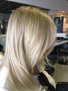Creamy blonde and Icy hues. Olaplex blondie. Healthy hair. Coloured by sheree