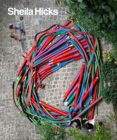 Sheila Hicks: 50 Years (Addison Gallery of American Art) by Susan C. Faxon http://www.amazon.com/dp/0300121644/ref=cm_sw_r_pi_dp_zAh1tb04GWF373BW