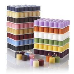 288 Premium 10 Hour Votive Candles.  Made in the USA10 Hour Votives...