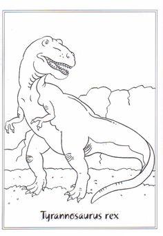 Malvorlage Tyrannosaurus Rex Malvorlagen Ausmalbilder