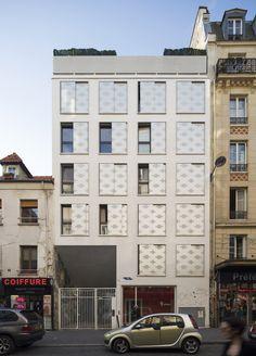 SOA Architects Paris > Projects > BELLEVILLE RELAY HOUSE