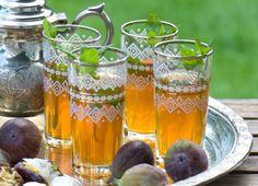 Moroccan tea.