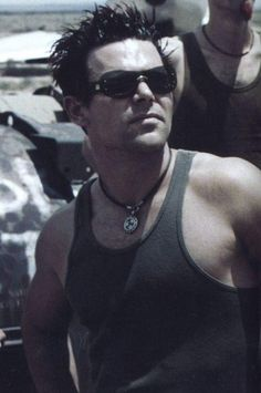 Richard Kruspe from Rammstein.  THIS is hotness defined.