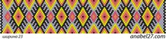 "Схема браслета ""Дух огня"" / Peyote pattern   - Схемы для бисероплетения / Free bead patterns -"