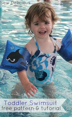 Sew Delicious: Toddler Swimsuit - Free Pattern & Tutorial