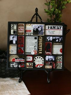 would be so cute to do at the end of every year! great gift idea!