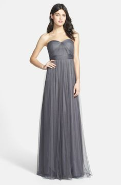 Jenny Yoo 'Annabelle' convertible tulle bridesmaid dress. So pretty!