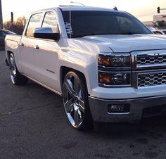 Custom Chevy Trucks, C10 Trucks, Chevy Pickup Trucks, Chevy Pickups, Silverado Crew Cab, 2014 Chevrolet Silverado 1500, Dropped Trucks, Lowered Trucks, Boy Toys