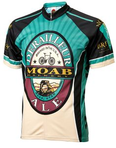 Official Moab Brewery Derailleur Ale Mens Cycling Jersey available at  eCycle. We carry a huge selection of affordable brewery cycling jerseys. cc621c283