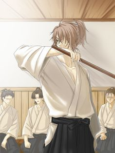 Just a simple little blog dedicated to Hakuouki's 1st Division Captain of the Shinsengumi, Okita...