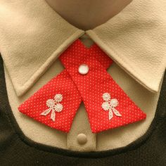 (via Womens Neck Tie Red & White Polka Dots Lace by flappergirl) Lady ties by Flappergirl on Etsy Buy Fabric, Printing On Fabric, Find Friends, Lace Flowers, Thrifting, Red And White, Cool Style, Polka Dots, Retro