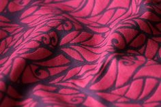 Genesis Berry Beet / 80% fuchsia-pink and slate Egyptian cotton, 20% fuchsia linen / 2015