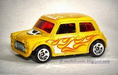 Mattel Hot Wheels Mini Cooper Malaysia Decals 2009