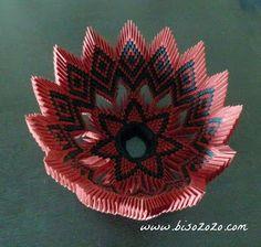 3d origami bowl