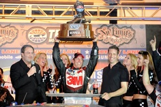 Greg Biffle wins the Samsung Mobile 500 at Texas Motor Speedway on 4/15/12