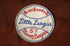 Came across this from the car barn estate. I swear, that family played every sport, and every single one of them served in the military. What an interesting family history to have... #Beechmont #littleleague #baseball #minorleague #1957 #50s #1950s #vintage #throwback #louisville #kentucky #patch #ironon #sewon #history #estatelove #patches #punk #rebelyell #rocknroll #childhood #sports #kidssports #compassion #compassionmatters #estatesales