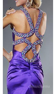 I really like open back dresses, prom dresses #SherriHillStyle