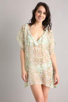 O'Neill Tallulah Cabo Sheer Tunic Dress | South Moon Under