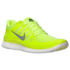quality design 58e30 7e13f Outlet Billiger Nike Free 5.0 Running Herren Volt Dunkle Basis  Grau GipfelWeiß Online Billig