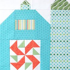 """Bee In My Bonnet: The Quilty Barn Along...Silo Barn 3 and a """"Peas and Carrots"""" block tutorial!..."""