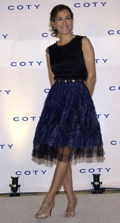 Sarah Jessica Parker | ballerina, tutu inspired dress, formal dress