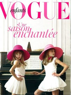 #fashion #kids   Vogue Enfants! This cover inspires US :-)!! FIERCE