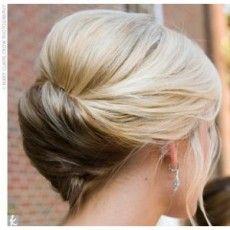 Wedding hair, twist