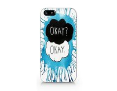 A099 OK OK blue phone case for iP4/5/5C/6/6plus from Emerishop by DaWanda.com
