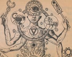 drawing Illustration art trippy drugs trip surrealism zodiac surreal astrology scorpio meditation cult Astronomy hallucination illusion Spiritual Eye Of Horus all seeing