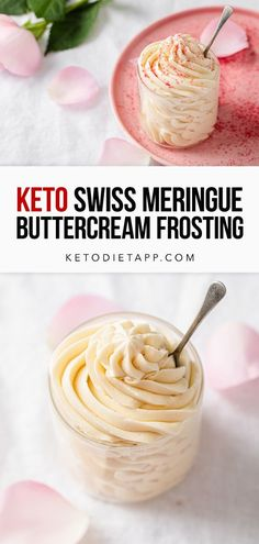 How to make sugar-free Swiss Meringue Buttercream in a few easy steps and using just 5 ingredients. This keto frosting is creamy, silky smooth and perfect for piping on cupcakes! #keto #lowcarb #dessert #paleo #sugarfree #fatbombs Dairy Free Keto Recipes, Primal Recipes, Carbs Protein, Protein Snacks, Sugar Free Desserts, Keto Desserts, Low Carb Sweeteners, Swiss Meringue Buttercream, Gluten Free Breakfasts