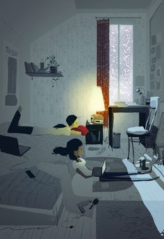 First snow by ~PascalCampion on deviantART