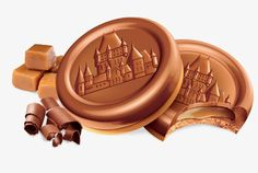 Leclerc Celebration Butter Cookies topped with Real Milk Chocolate Caramel Truffle - Leclerc >> the BEST Chocolate Packaging, Chocolate Caramels, Chocolate Drawing, Food Texture, Dessert Drinks, Desserts, Cookie Packaging, Food Painting, Food Words