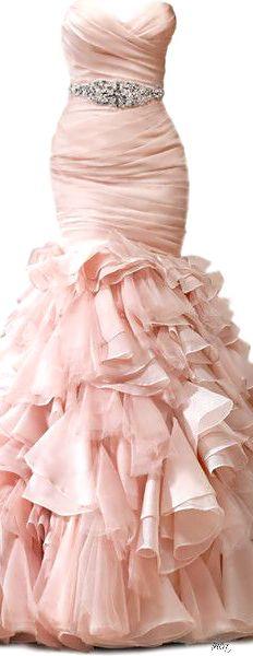 Blush wedding beauty