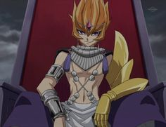 Yugioh Zexal Vector Throne On His Ship