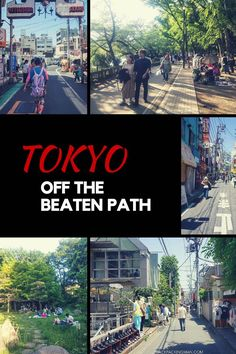 If you're looking to escape the normal tourist places in Tokyo then take a look at these neighbourhoods that have a more local relaxed pace of life.