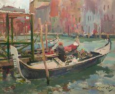 Gondolas, Charles Movalli, Sold