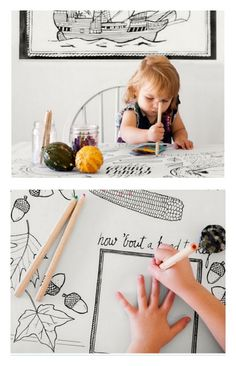 12 free (or mostly free) Thanksgiving printables from kids coloring placemats, to place cards and gift tags