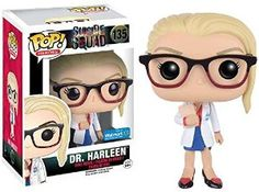 Amazon.com: Funko Pop Suicide Squad Dr. Harleen Quinzel Exclusive Vinyl Figure - Harley Quinn: Toys & Games
