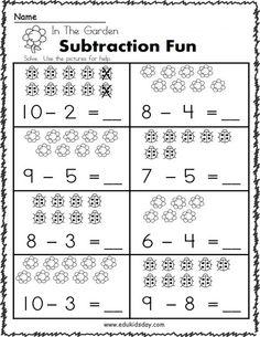 Free New Grade 1st Printable Worksheets Kindergarten - Edukidsday.com