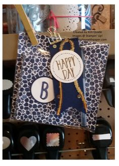 KimPlaysWithPaper.com    Stampin Up; Perfectly Wrapped stamp set; Layered Letters Alphabet stamp set; Floral Boutique DSP