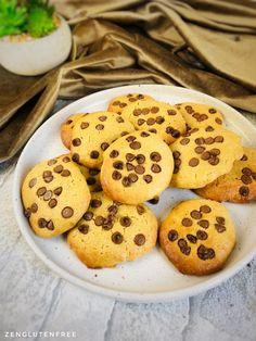 Cookies moelleux sans œufs sans gluten sans lactose | Cuisinez zen et Sans gluten Gateaux Vegan, Patisserie Sans Gluten, Sans Gluten Sans Lactose, Veggies, Zen, Desserts, Recipes, Food, Filter
