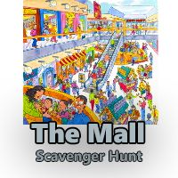 Get your Mall Scavenger Hunt for just $4.99 (was $7.99). 35% off the price of our #Mall #ScavengerHunt #Clues for #Adults
