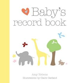 Baby's Record Book - YBB0001